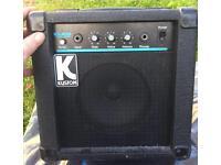 Kustom KLA10 lead Amp