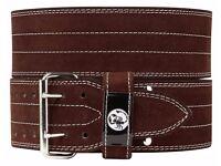 """Powerlifting Belt (double prong) - Medium (waist 30-35"""")"""