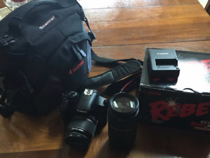 Canon Rebel xsi with accessories