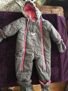 OSHKOSH toddler girl snowsuit