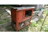 Rabbit Hatch Rabbit Cage as seen in picture grab a bargain cheap rabbit cage and hatch