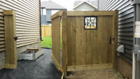 Custom Wooden Decks and Fences