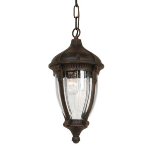 SELLING ::: Annapolis 4 Light Outdoor Pendant in Oiled Bronze