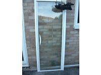 Shower pivot door and frame 720mm wide x 1830mm