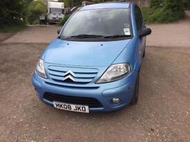 2008 CITROEN C3 EXCLUSIVE HDI BLUE 1 OWNER FRON NEW