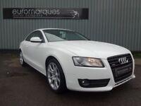 Audi A5 2.0 TDI SPORT 170PS (white) 2010