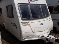 Bailey Pageant Monarch Series 6 2 Berth End Washroom Caravan with MOTOR MOVER