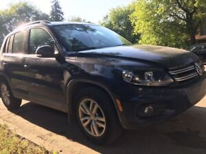Cheap and low mileage 2014 VW Tiguan