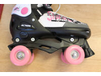 Girls Roller Skates - Excellent Condition