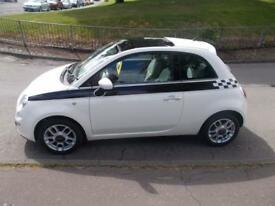 FIAT 500 LOUNGE 2008 Petrol Manual in White (white) 2008