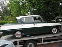 WANTED ALL CLASSICS AUSTIN MORRIS RILEY TRIUMPH RELIANT MG FORD OPEL VAUXHALL BEDFORD MOTORCYCLES