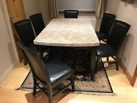 Granite Dining Table For Sale Print of Beautiful Granite Dining