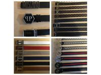 3 FOR £60 Versace Ferragamo Armani D&G Designer belts London cheap northwest harrow ealing hendon