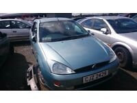 2001 FORD FOCUS ZECTEC, 1.8 TD, BREAKING FOR PARTS ONLY, POSTAGE AVAILABLE NATIONWIDE