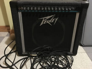 Amplifier with cords
