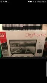"55"" Digihome LED TV"