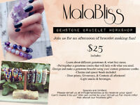 Make your own gemstone bracelet with MalaBliss (Workshop)