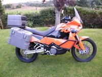 KTM 950 Adventure 2005 Low miles and full luggage plus extras