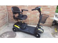 Rascal Veo Yellow 4 Mph Mobility Scooter