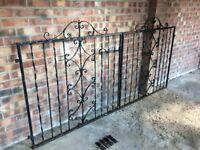 Old wrought iron gates