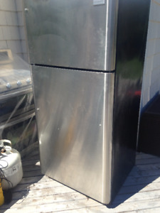 Stainless steel fridge and stove for sale