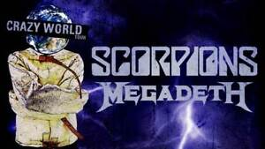 SCORPIONS/MEGADETH **SECTION 102** SEPT19