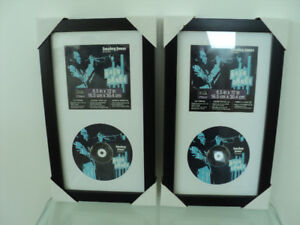 CD DISPLAY CASE BY STUDIO DÉCOR®  BLACK FRAMES