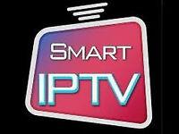 iptv smart box with 1 year line nt skybox