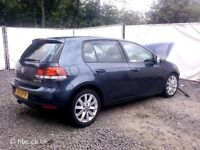 Volkswagen Golf 2.0tdi Gt Mk6 2012 For Breaking