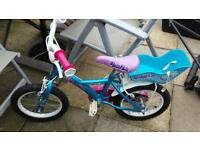 GIRLS BIKE 14 INCH WHEELS