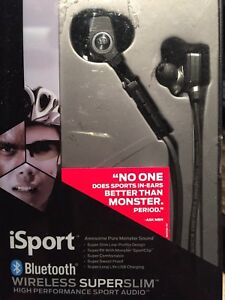 Monster iSport Superslim Wireless Headphones