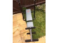Pure fitness and sports weight bench