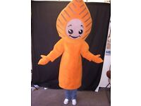 Professionally Made ' Leaf ' Mascot / Character Costume. Mascot Costume. Fancy Dress. Pantomime.