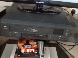 goodmans vcp660 vhs video recorder player