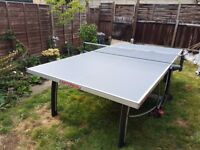 Cornilleau 300m Table Tennis Table - indoor/outdoor and foldable