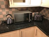 Kettle, Toaster and Microwave - all three for £50