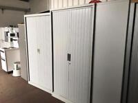 Grey Double Door Tambur Units