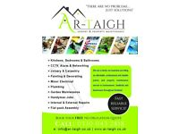 Ar-Taigh Joiner Plumber Painter & Decorator Handyman Gardener Fencing Decking Flatpack Grass Cutting