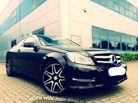 *Reduced Price* 62 Reg Mercedes C Class 2.1 C220 CDI BlueEFFICIENCY AMG Sport Plus (Low Mileage)