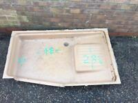 Caravan/ camper shower tray (2)