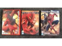 MARVEL HERO SPIDER-MAN 1 2 & 3 TRILOGY SPECIAL 2 DISC DVD - PERFECT CONDITION