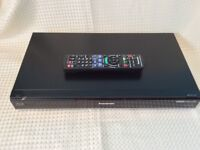 Panasonic dmr pwt530 blue ray player with built in freeview+ and 500gb hardrive