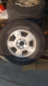 2012 F-150 tires and rims. $600