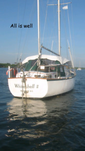 1978 Cooper Seabird 41ft Ketch sailboat