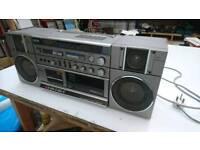 Old-school retro boom bx
