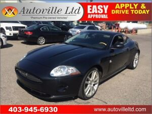 2007 JAGUAR XK8 LEATHER  NAVIGATION