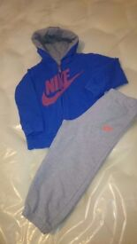 Boys Nike Tracksuit Size 24-36 months