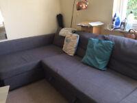 Corner sofabed, Corner Sofa, Couch, bed, couchbed with storage FRIHETEN
