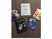 15 x martial arts bookd