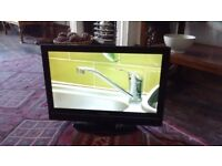 Toshiba LCD 19 inch TV with built in Freeview , USB etc